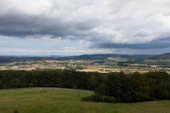 Panorama auf unserer Bierwanderung in Franken