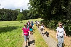 Wandergruppe der Bierwanderung in Franken