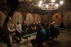Weinprobe im Keller des Fürstlich Cast'ellschen Domänenamts