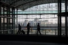 Berliner Hauptbahnhof Reichstag