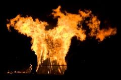 Feuerfiguren St. Martin